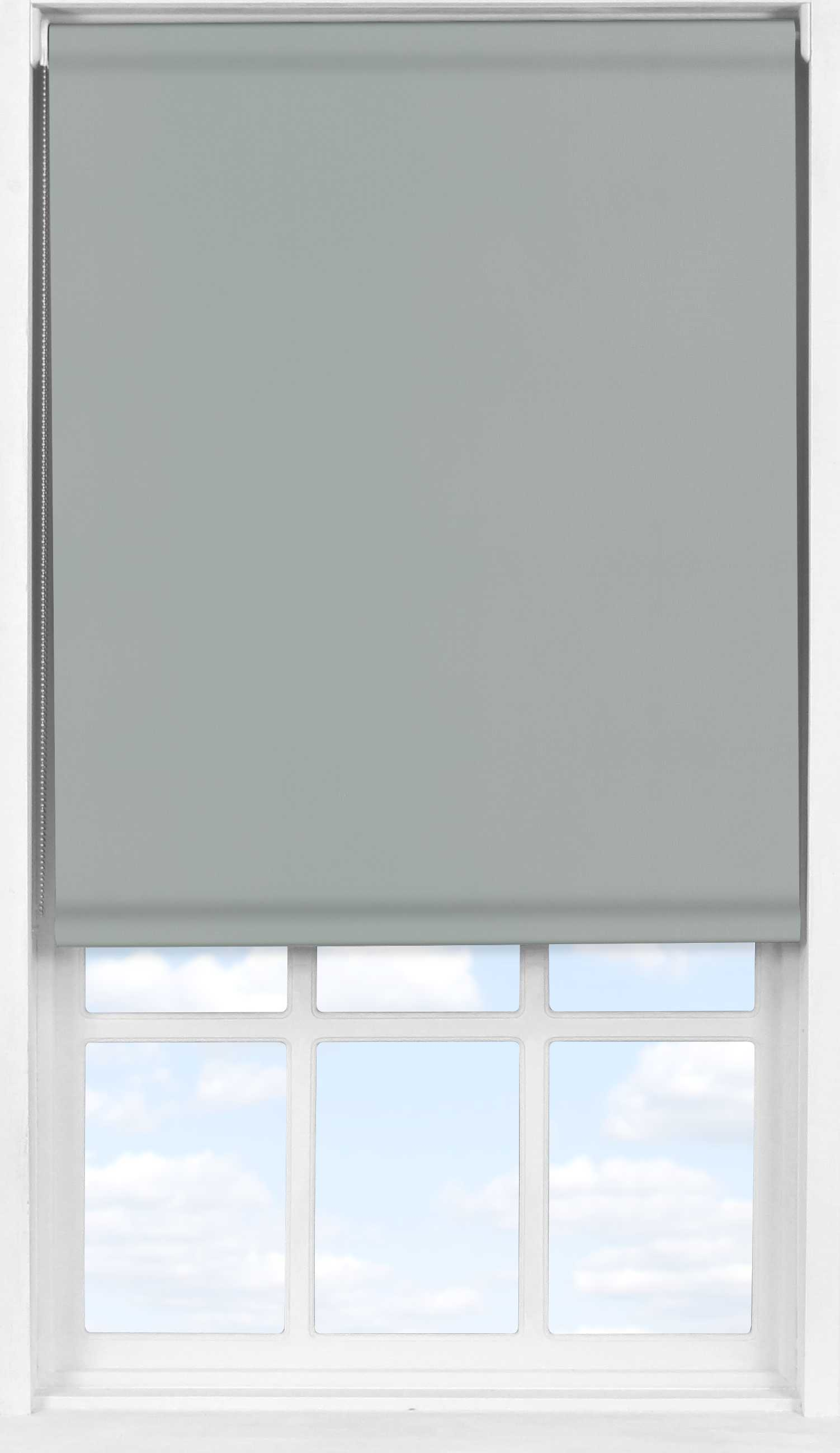 Easifit Roller Blind in PVC Iron