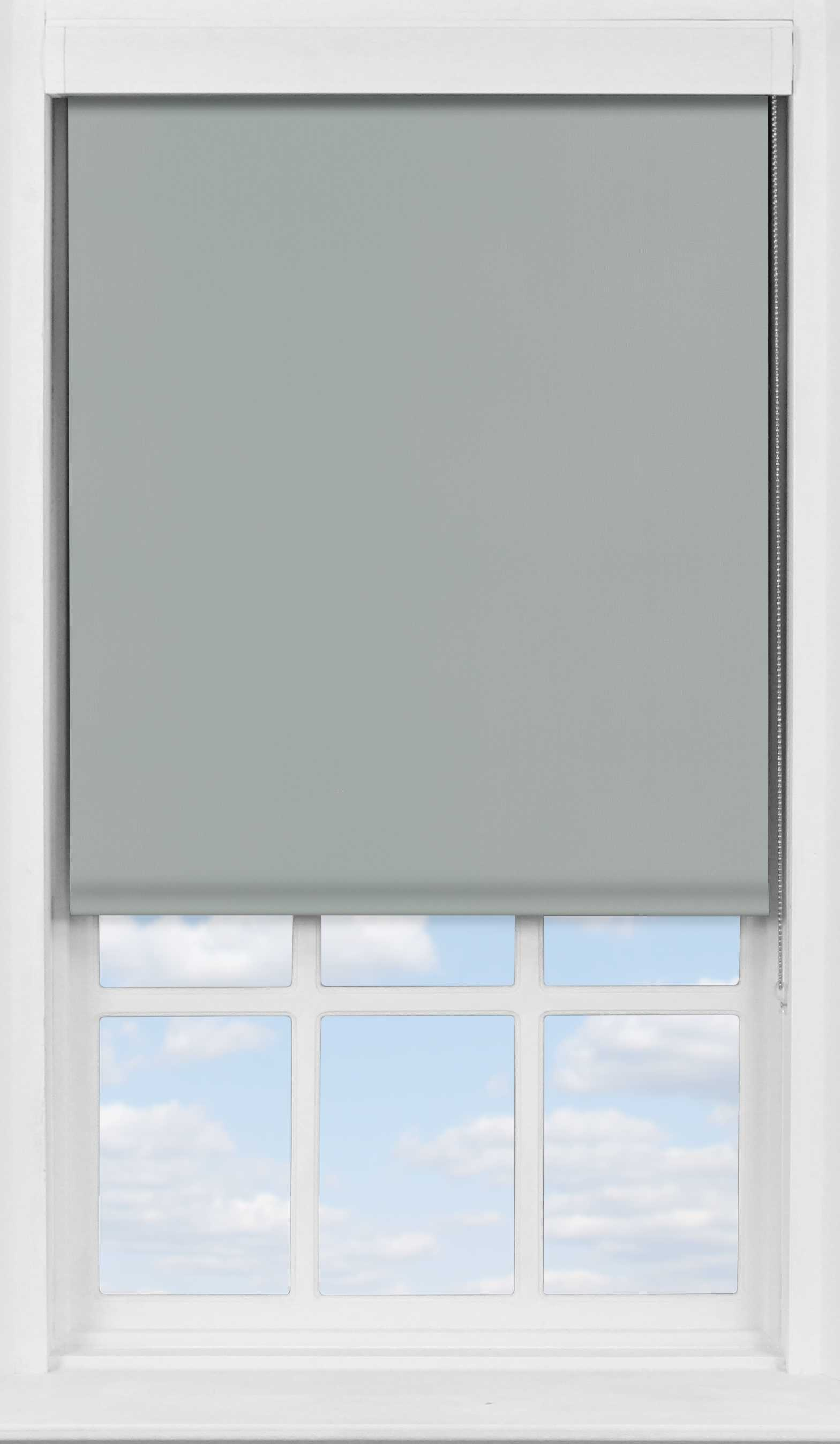 Premium Roller Blind in PVC Iron