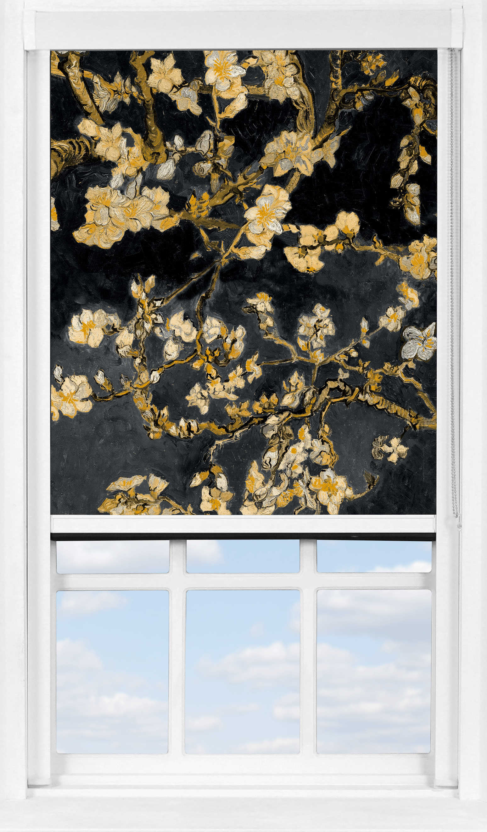 BlocOut™ XL in Van Gogh Almond Blossom Black Blackout