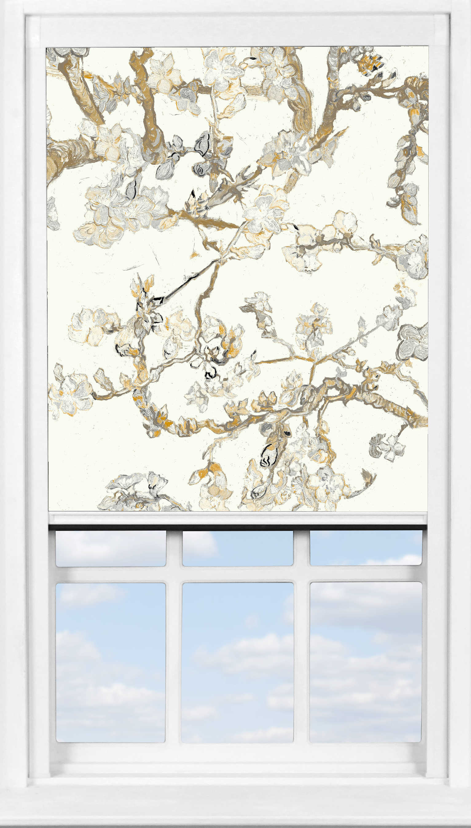 BlocOut™ in Van Gogh Almond Blossom Cream Blackout