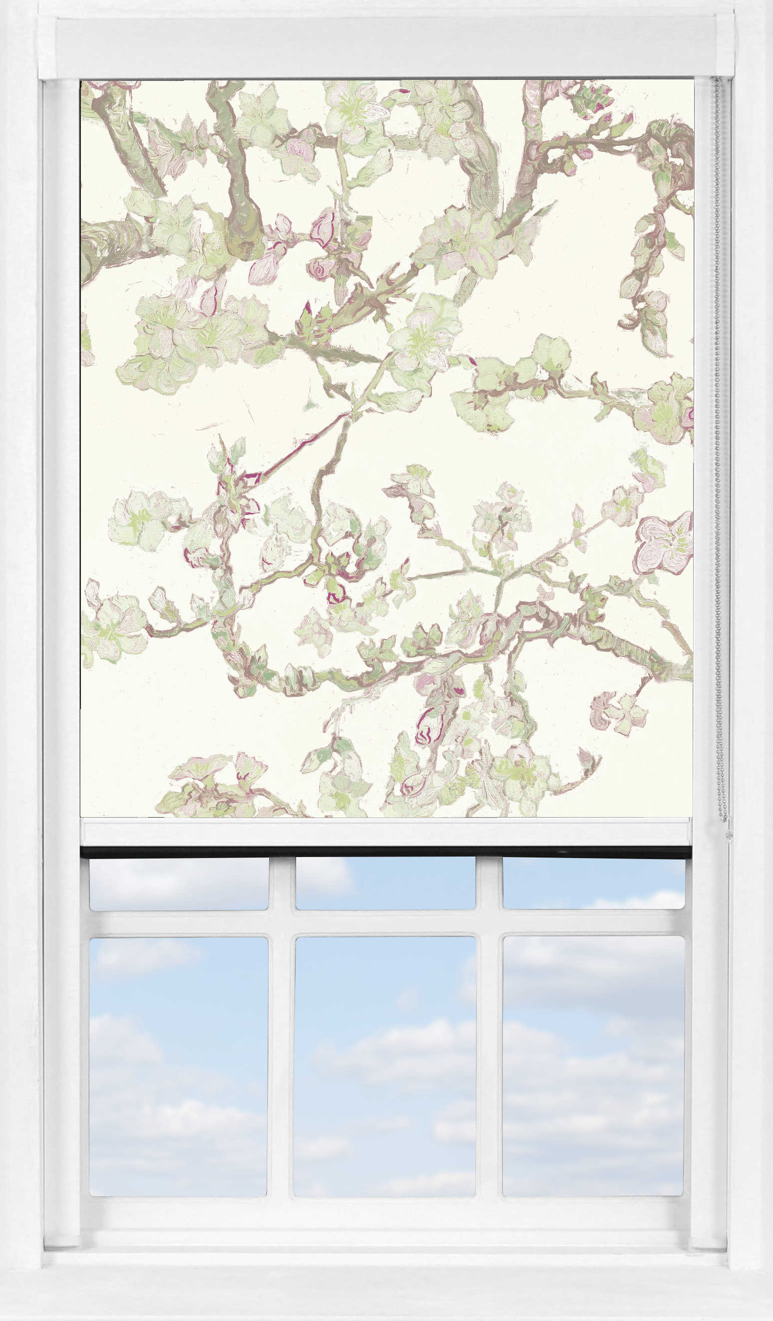 BlocOut™ XL in Van Gogh Almond Blossom White Blackout