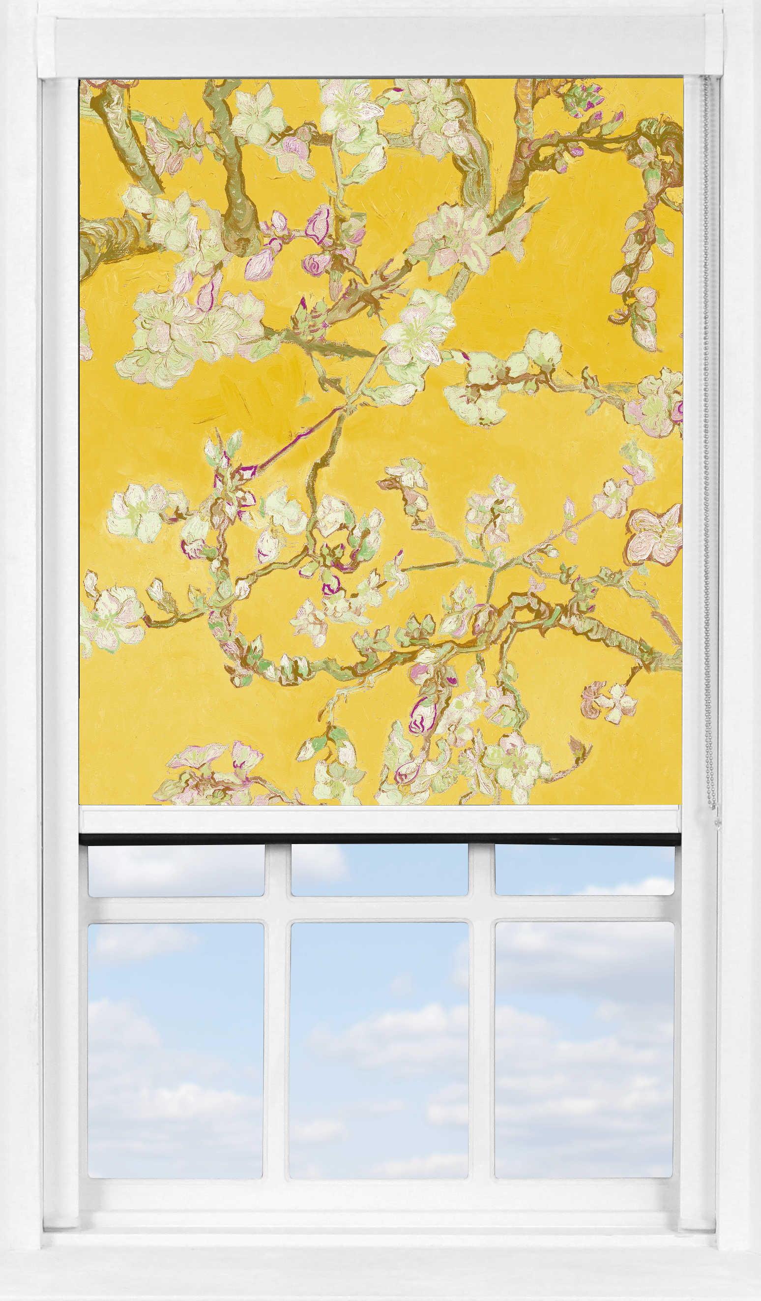 BlocOut™ XL in Van Gogh Almond Blossom Yellow Blackout