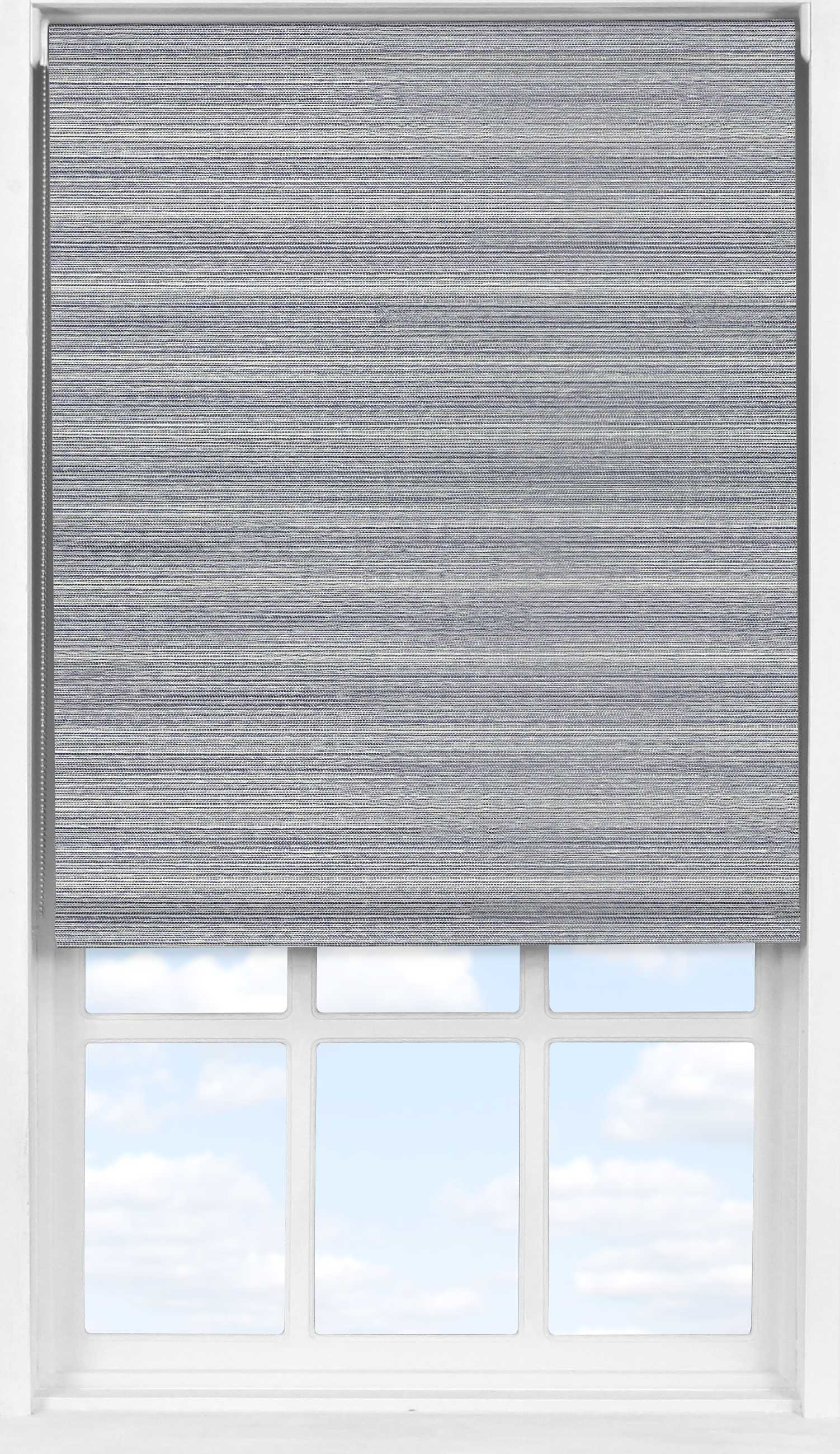 Easifit Roller Blind in Eastern Weave Pacific Translucent