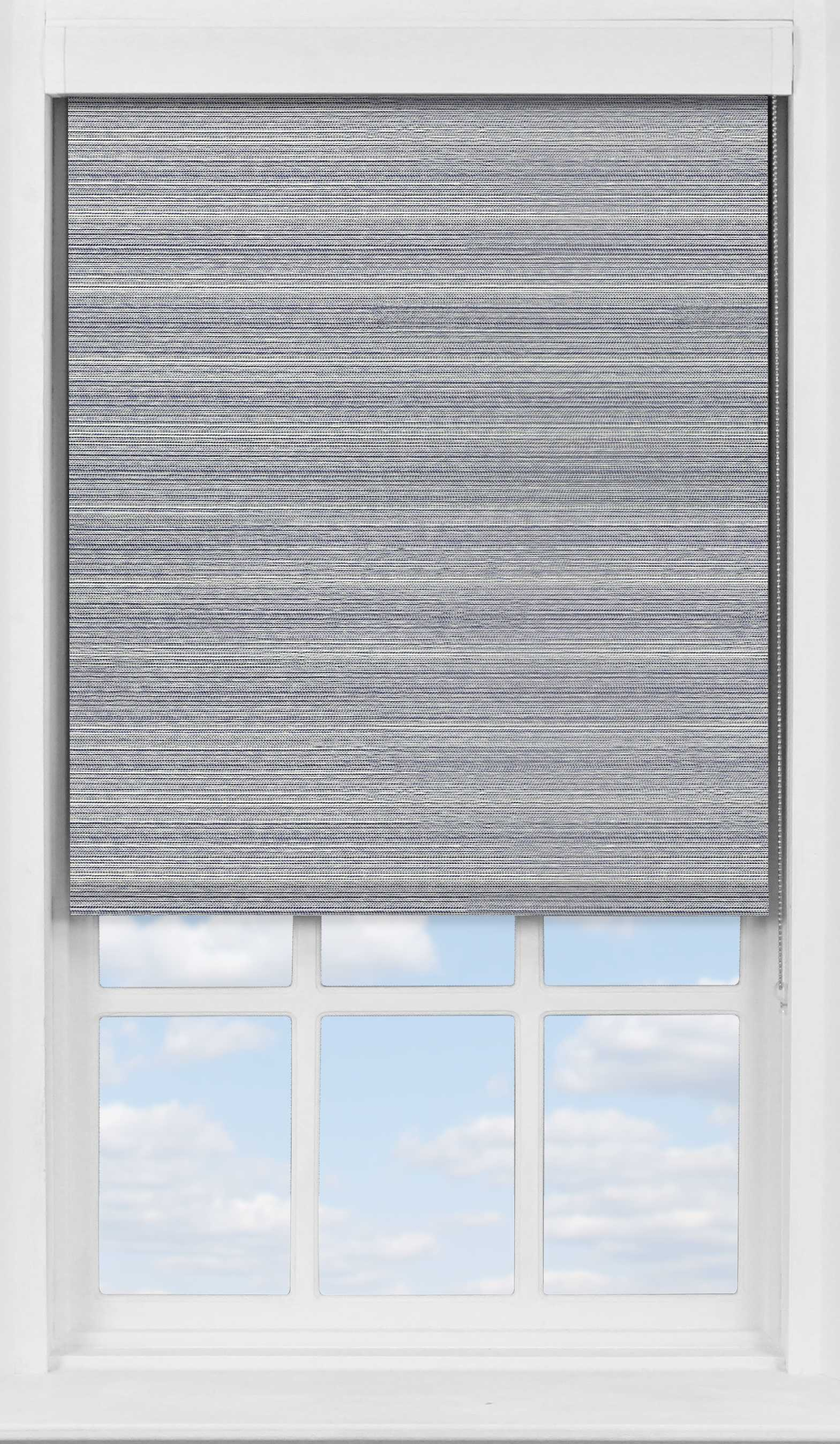 Premium Roller Blind in Eastern Weave Pacific Translucent