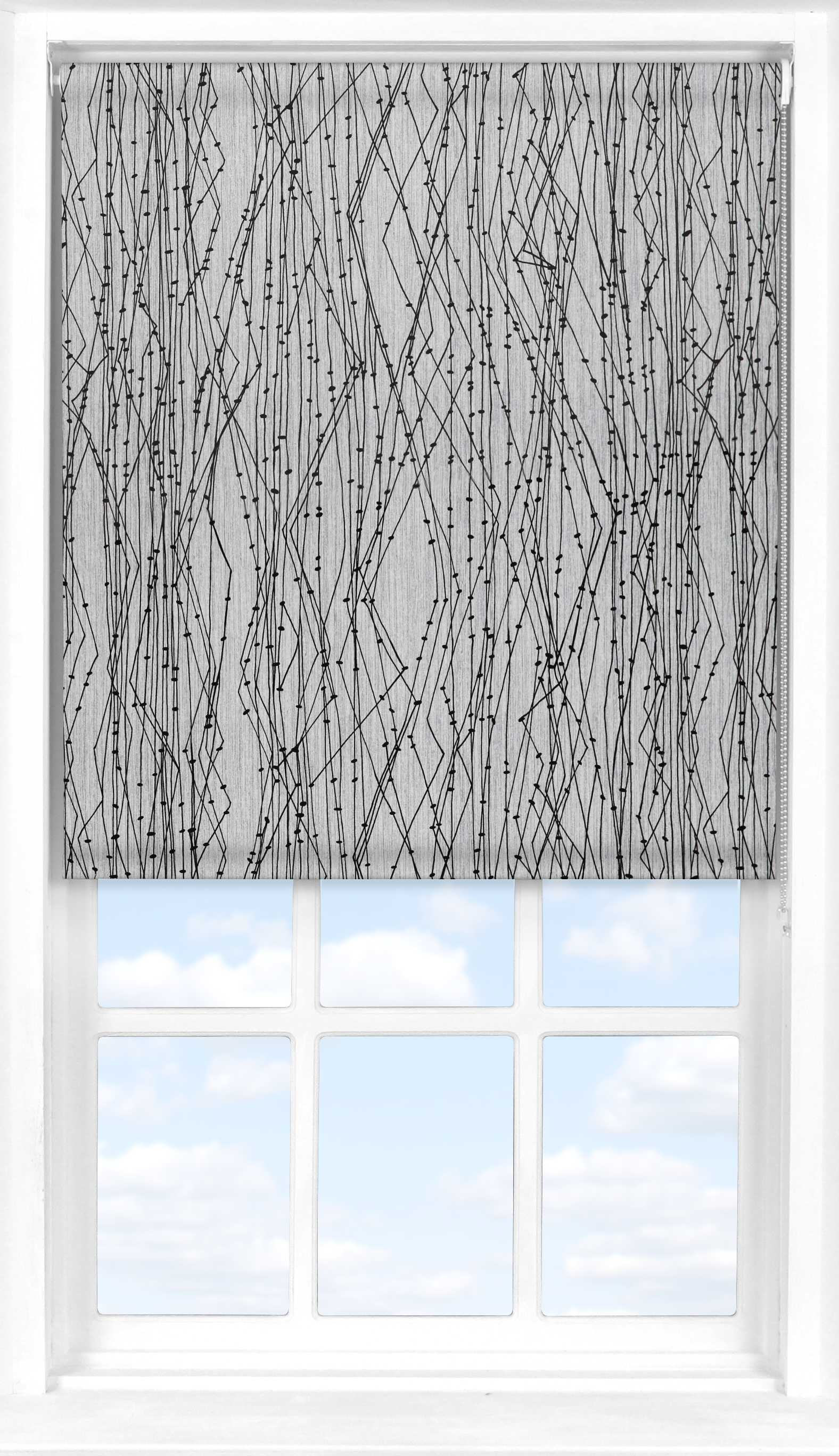 Roller Blind in Electric Volta Blackout