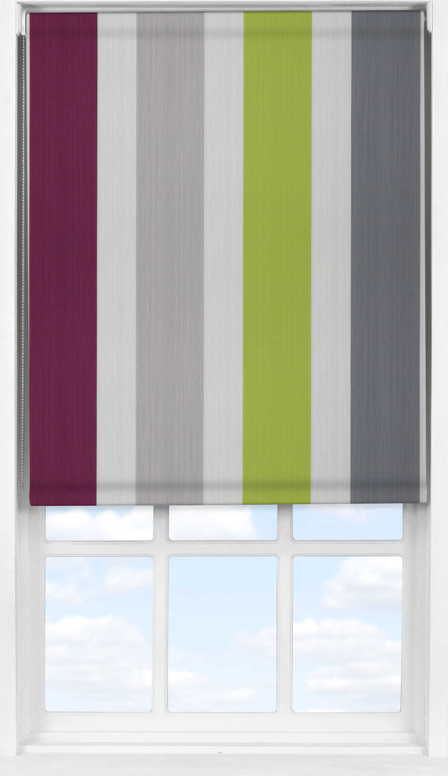 Easifit Roller Blind in Kensington Amethyst Translucent