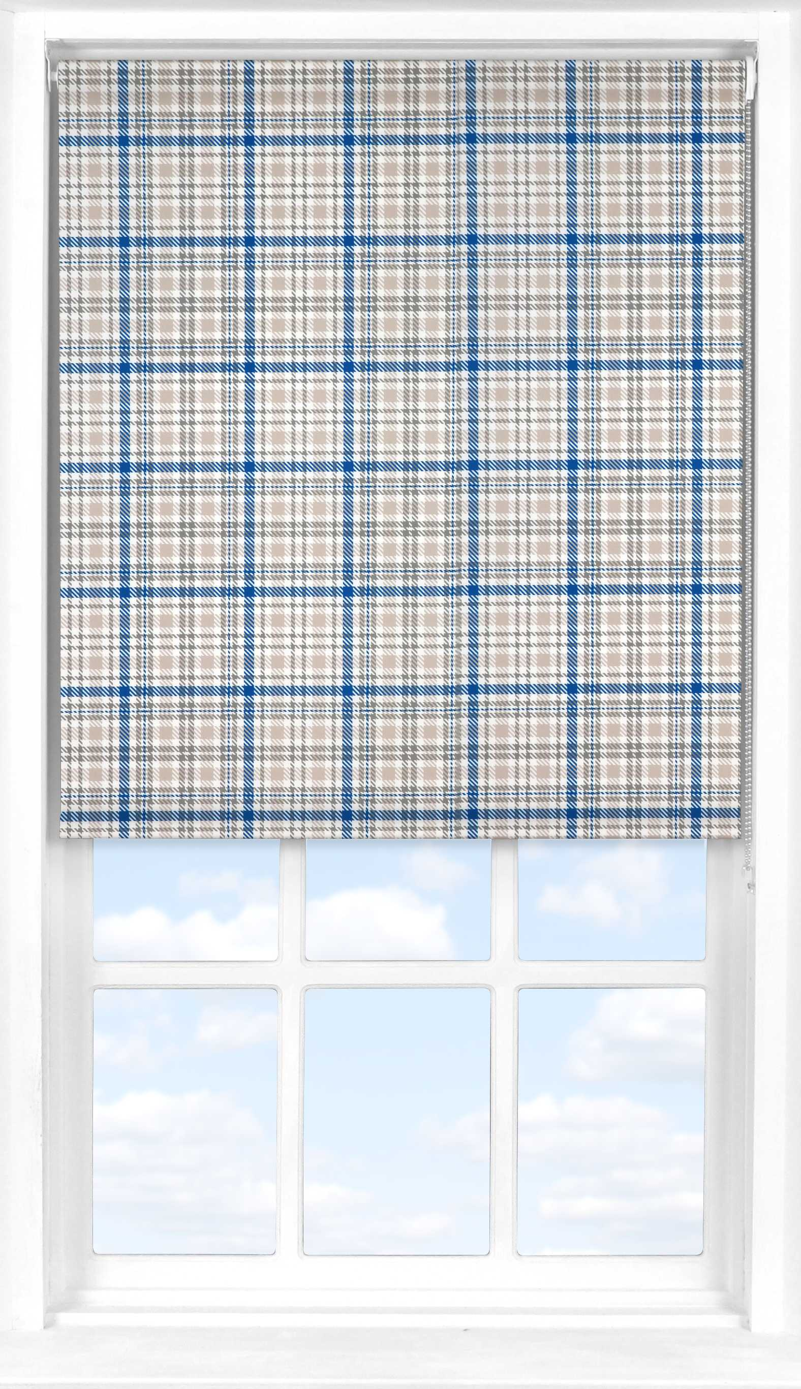 Roller Blind in Kintyre Murray Blue Translucent