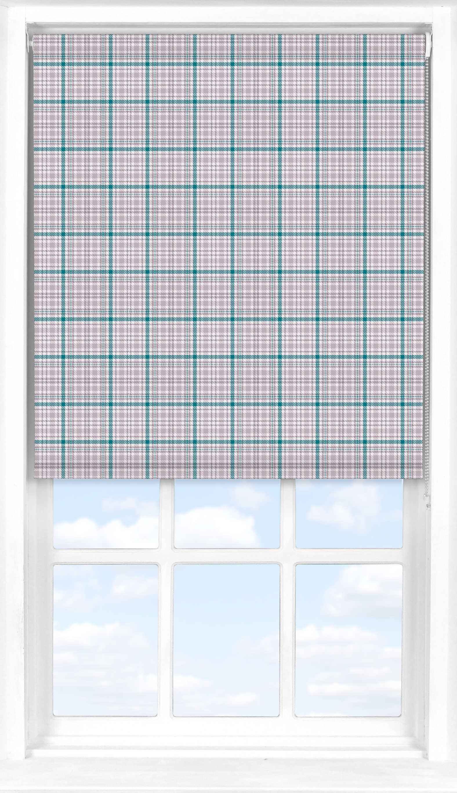 Roller Blind in Kintyre Hamilton Green Translucent