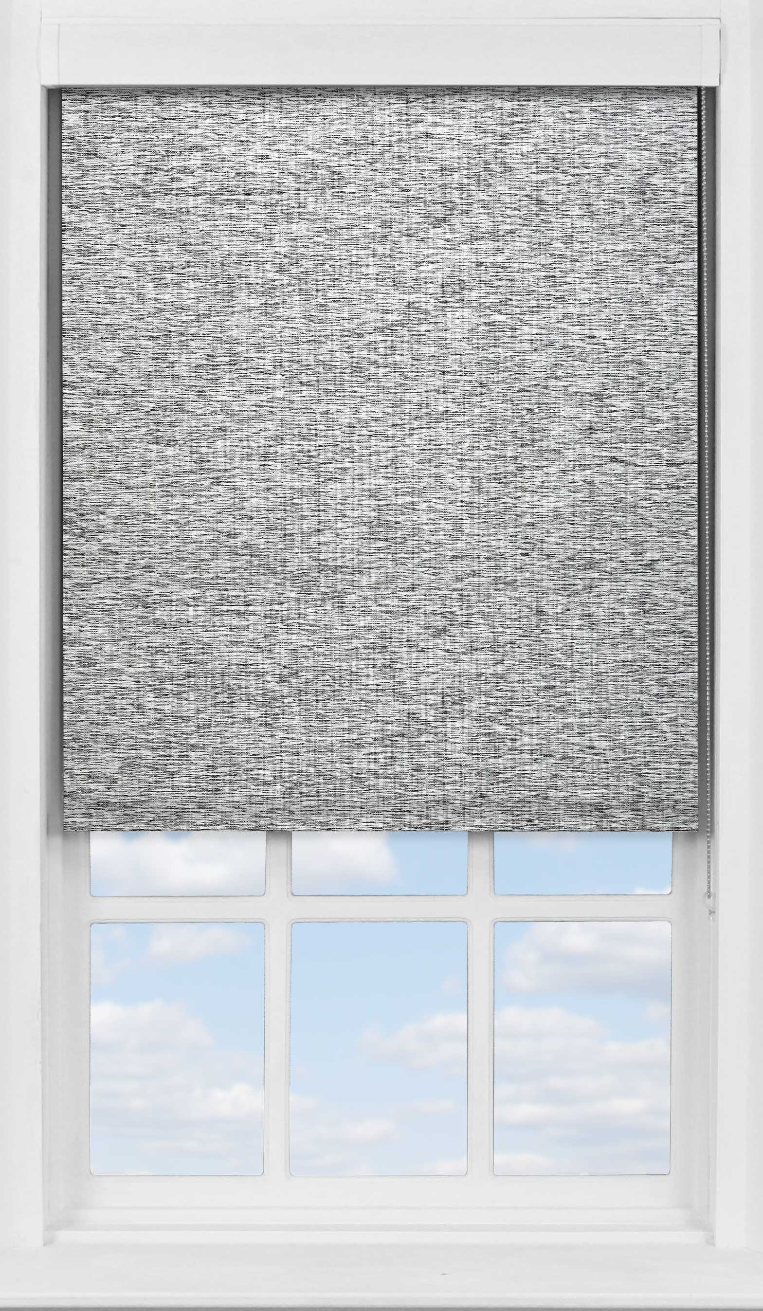 Premium Roller Blind in Opus Carbon Translucent