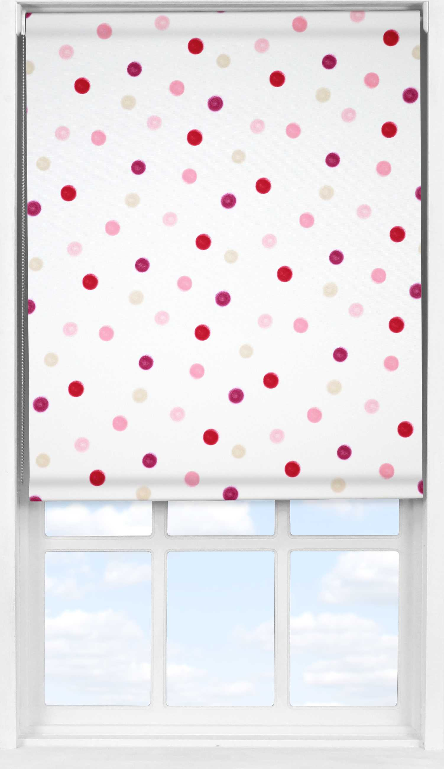 Easifit Roller Blind in Pastel Soft Pink Blackout