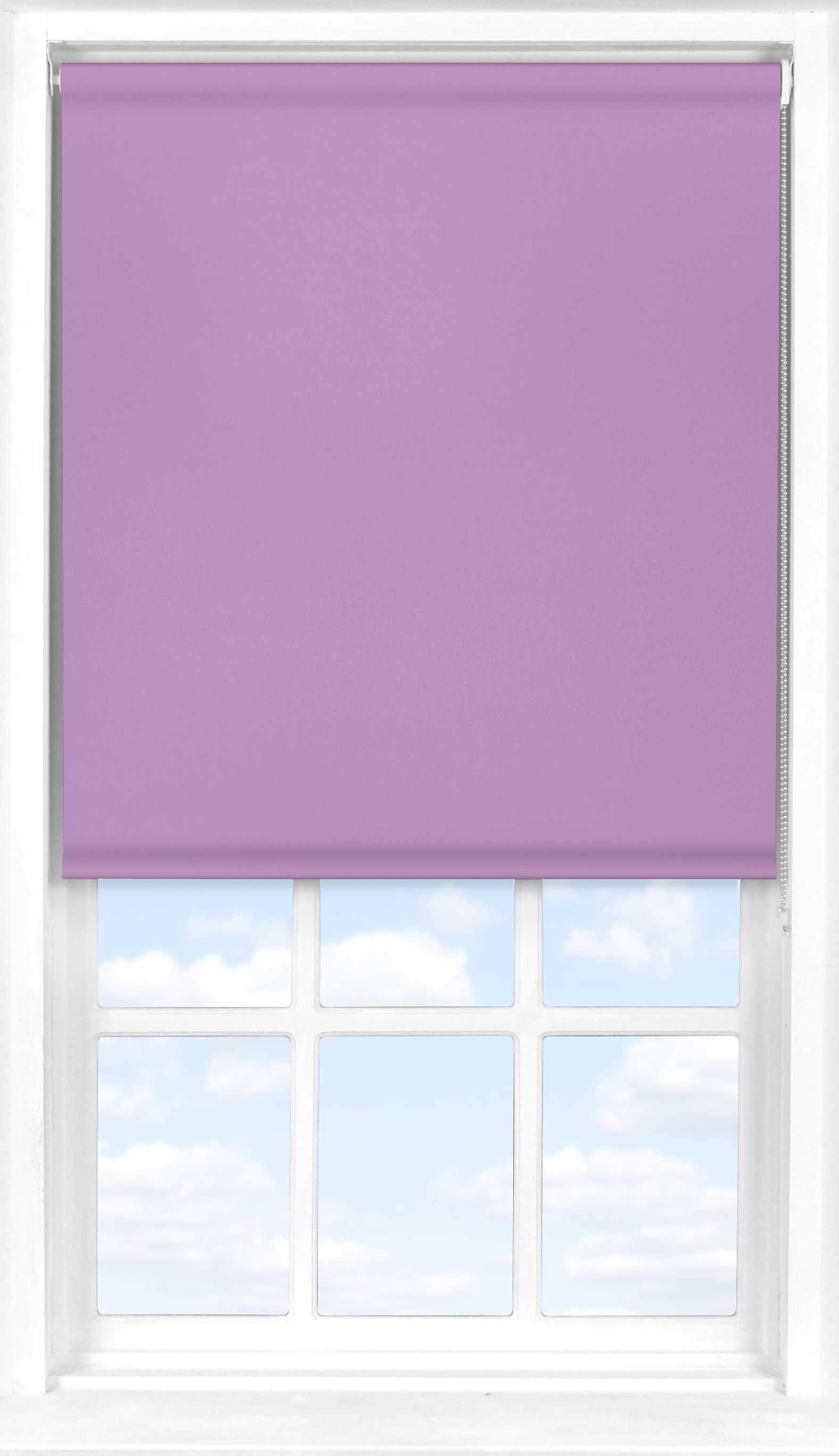 Roller Blind in Lavender Mist Translucent