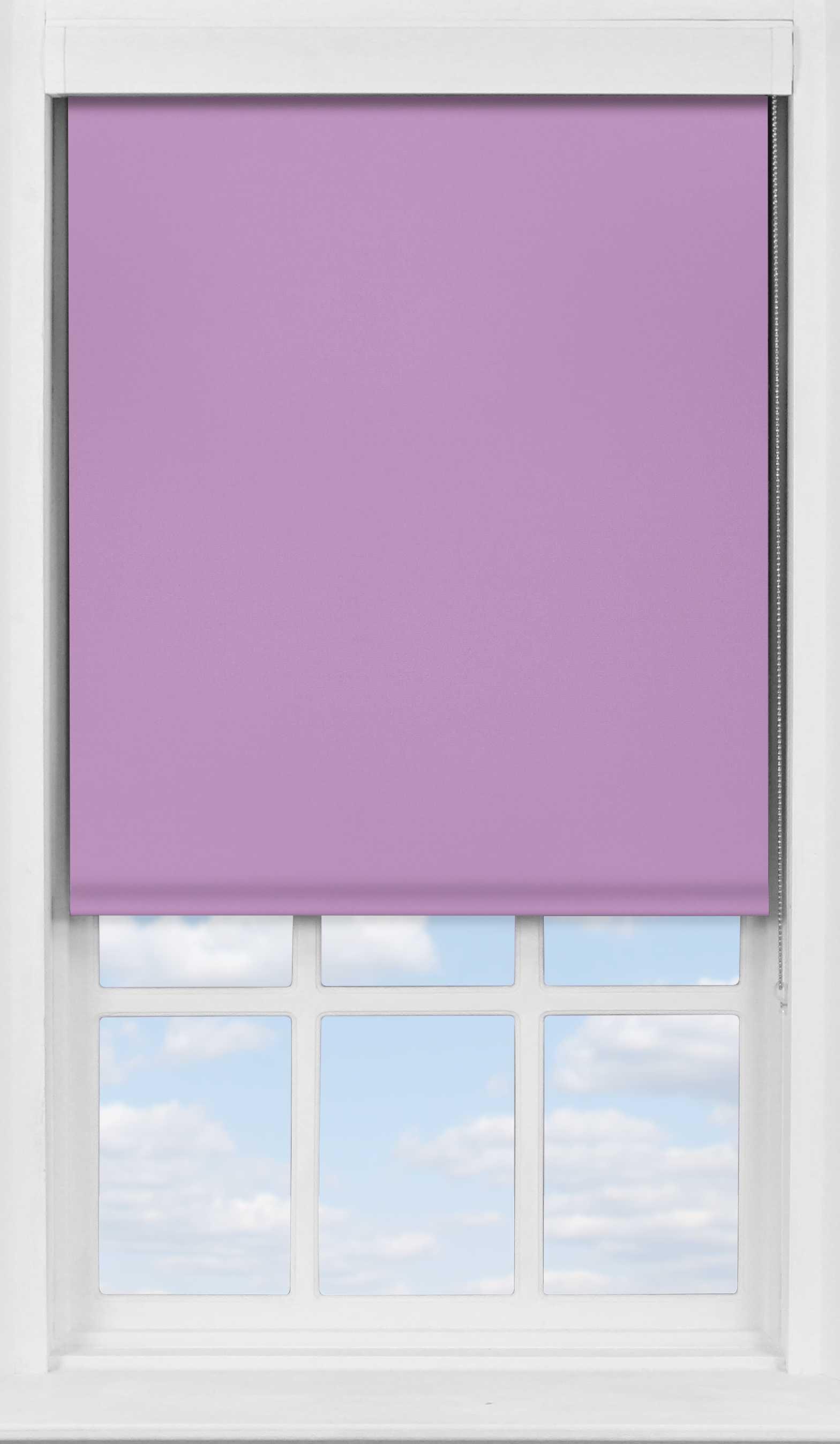 Premium Roller Blind in Lavender Mist Translucent