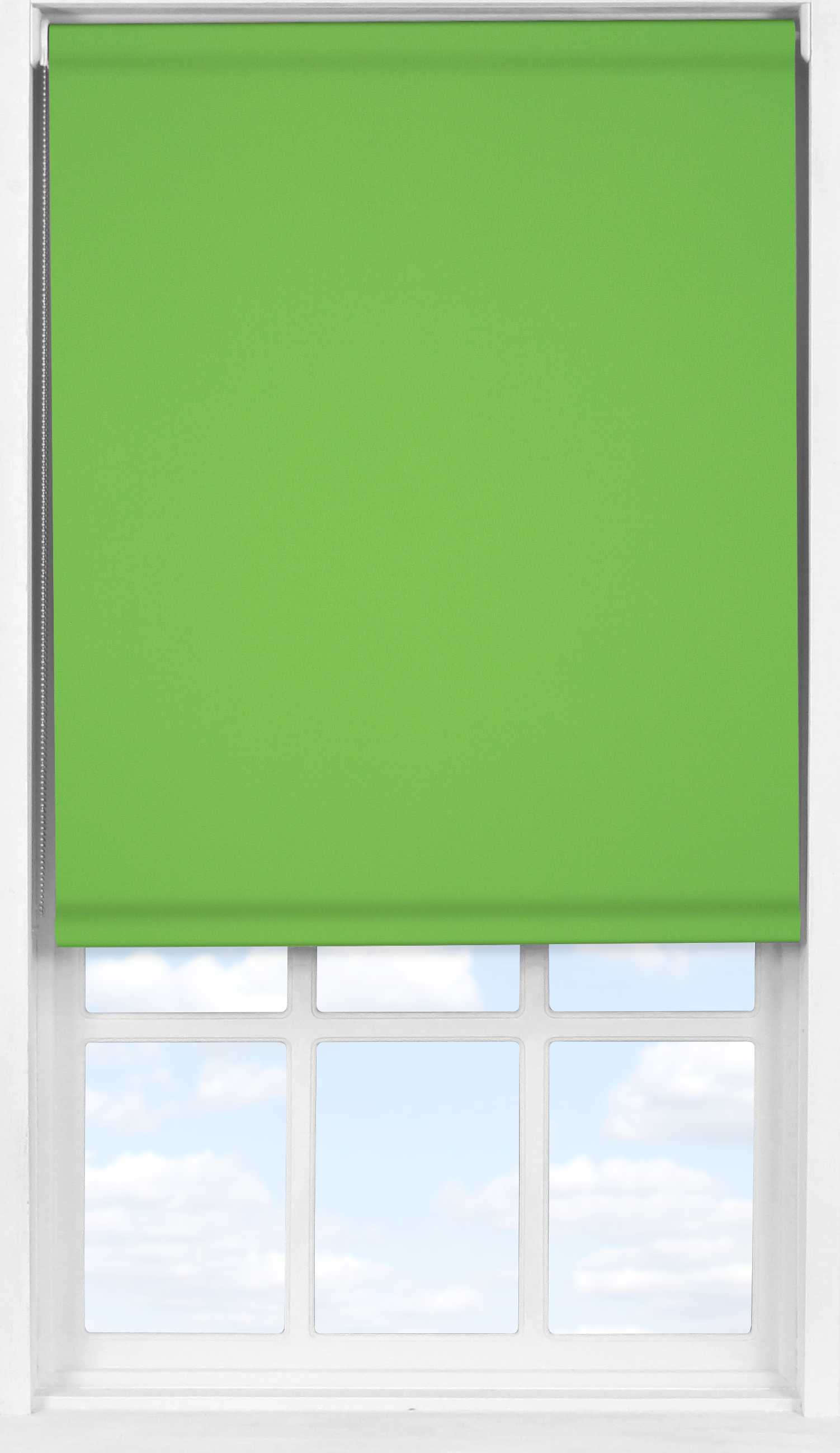 Easifit Roller Blind in Grass Green Translucent