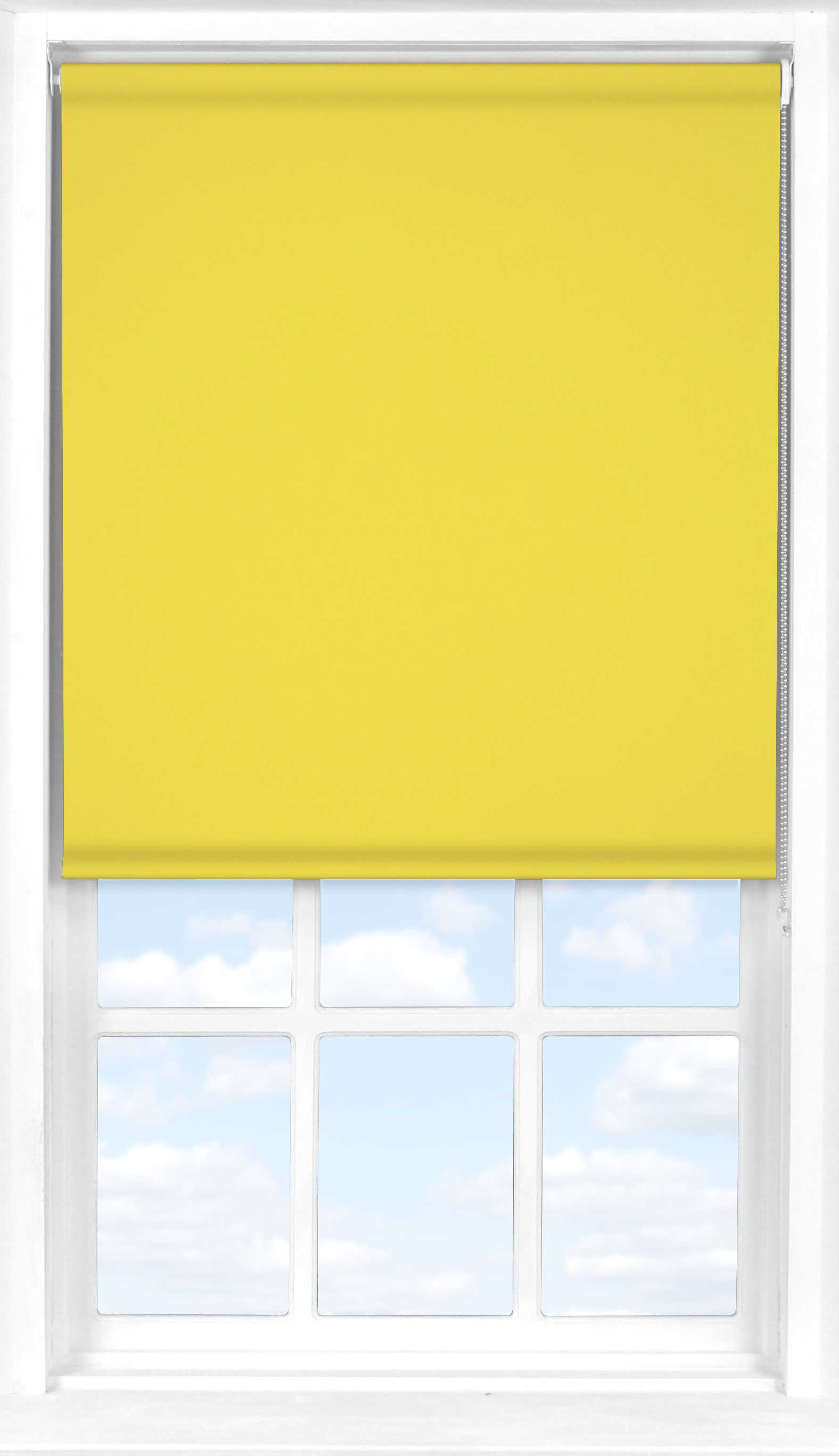 Roller Blind in Limeade Translucent