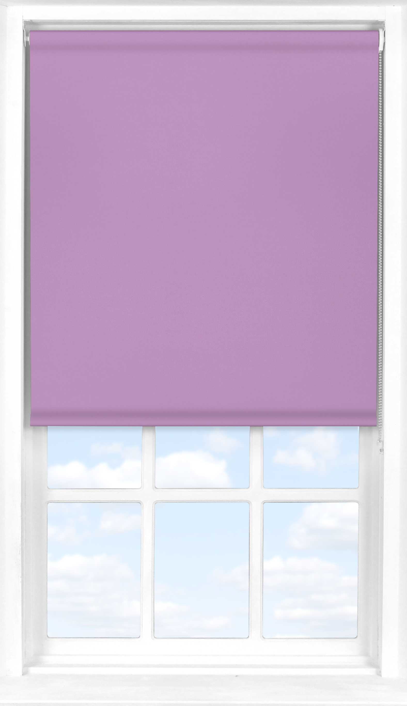 Roller Blind in Lavender Mist Blackout