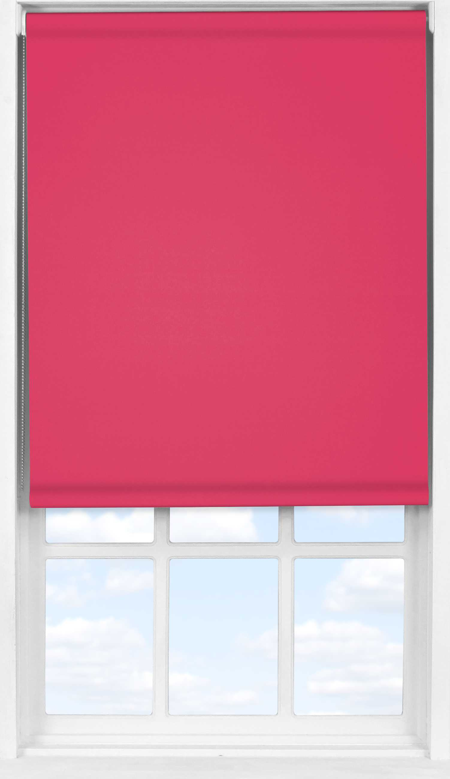 Easifit Roller Blind in Raspberry Blackout