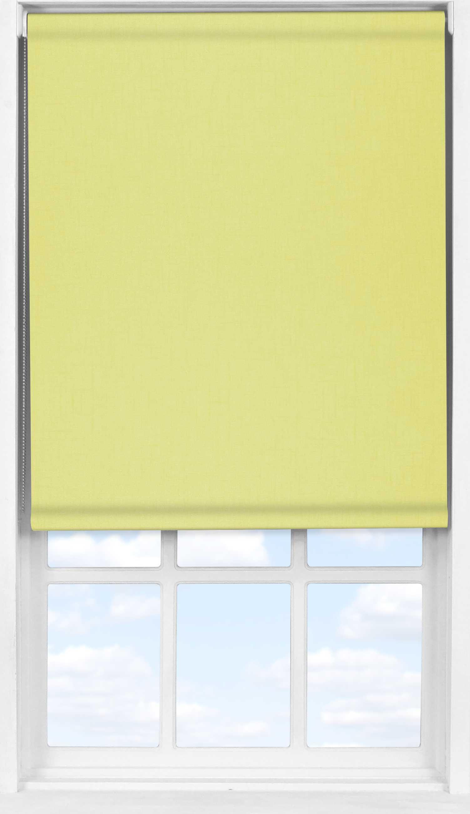 Easifit Roller Blind in Spectrum Lemonade Blackout