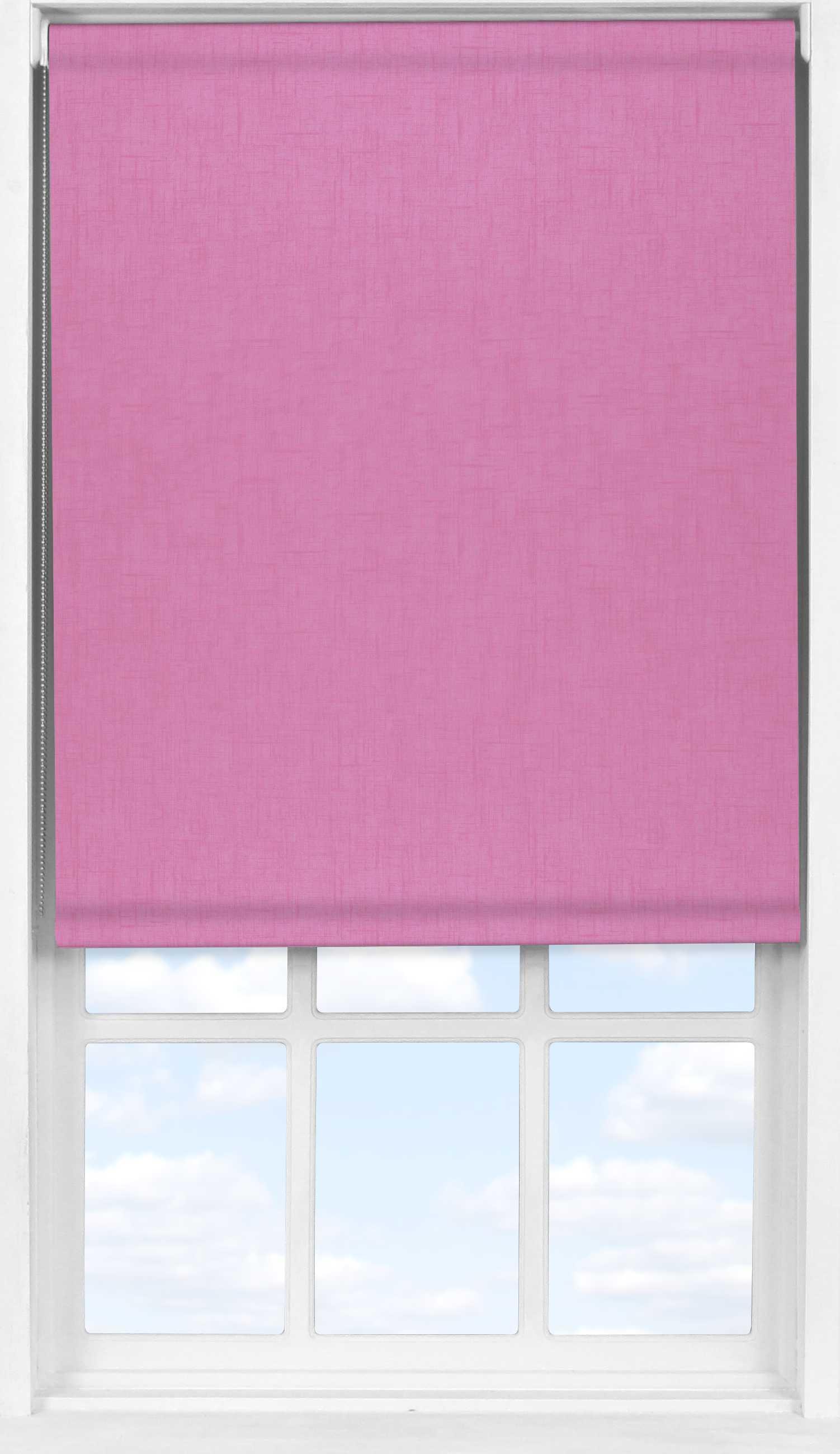 Easifit Roller Blind in Spectrum Prim Pink Blackout
