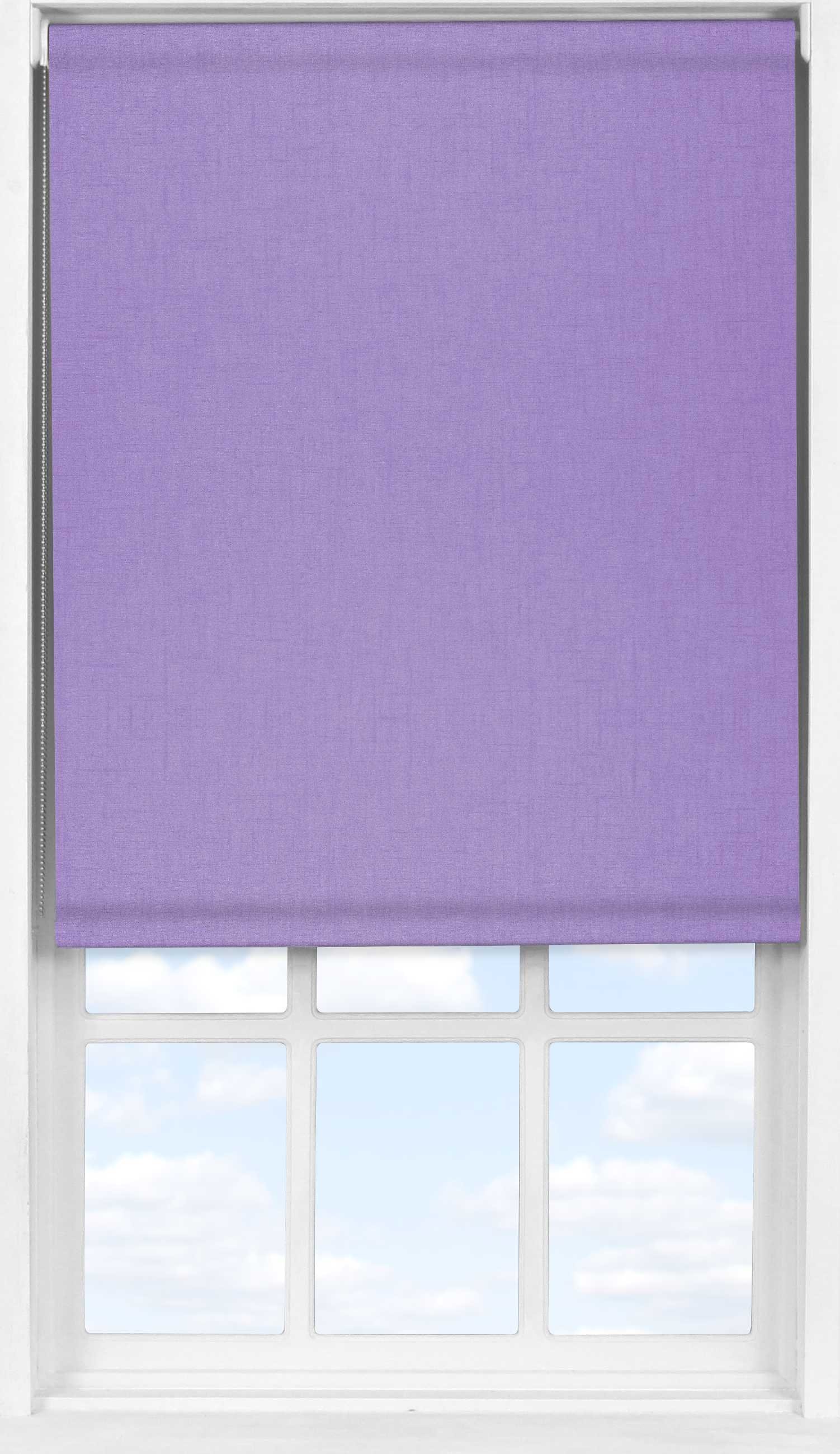 Easifit Roller Blind in Spectrum Spring Lilac Blackout