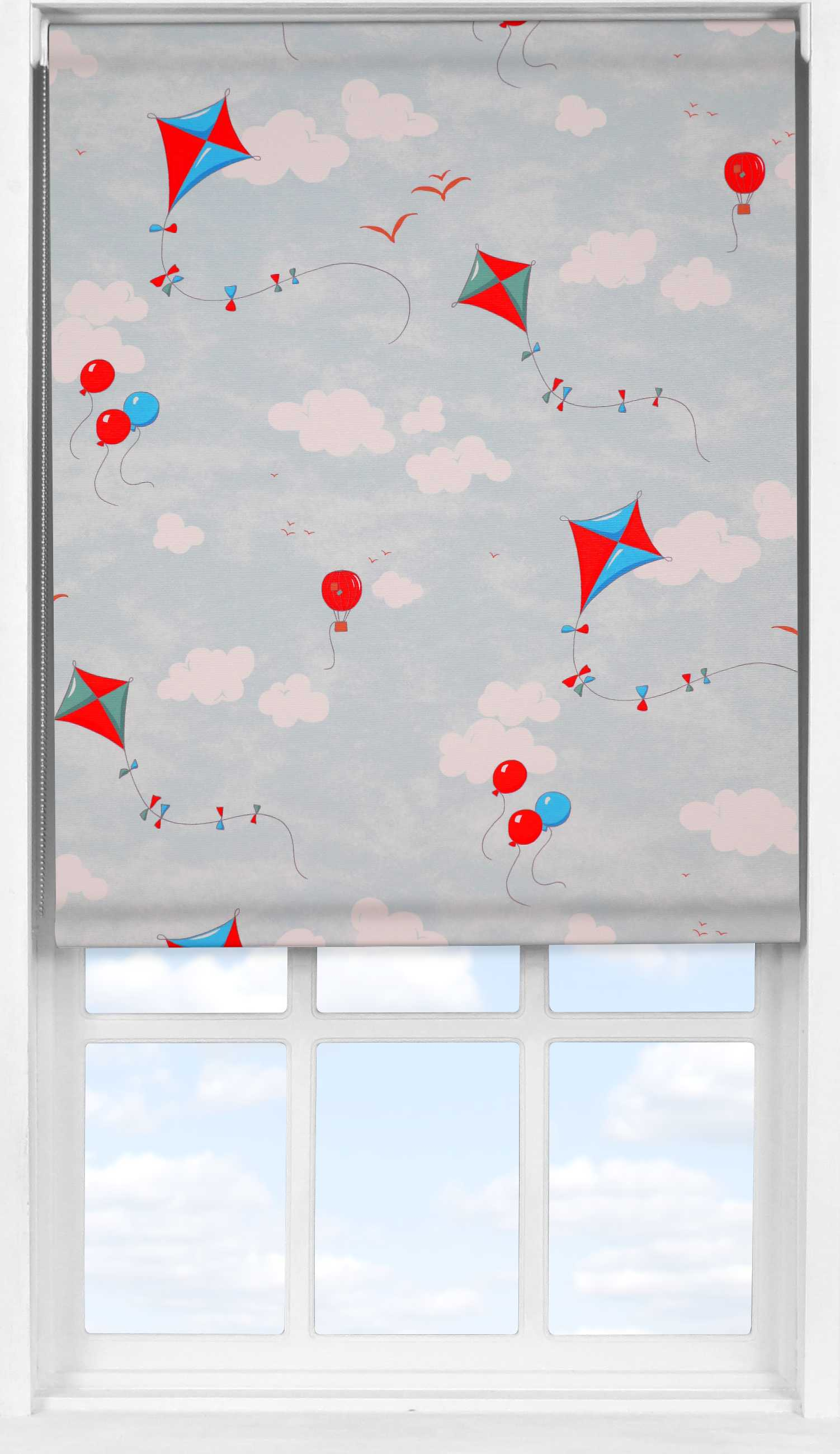 Easifit Roller Blind in Up & Away Blue Sky Blackout