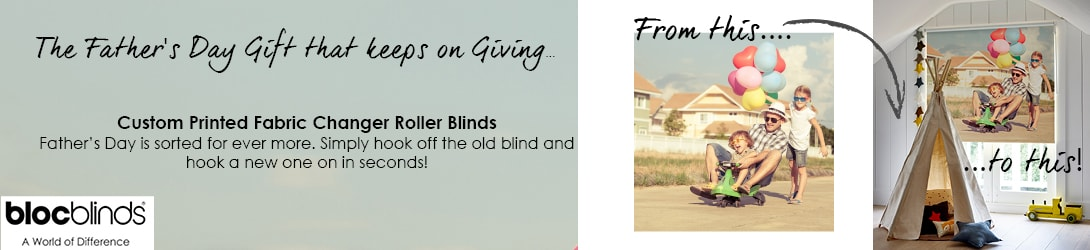 Fathers Day Print Your Own Blind