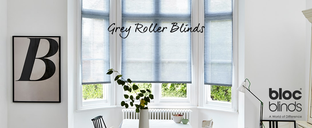 Grey Roller Blinds MADE TO MEASURE ORDER ONLINE