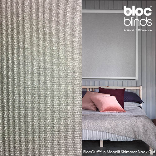 BlocOut™ black out blind in Moonlight Shimmer